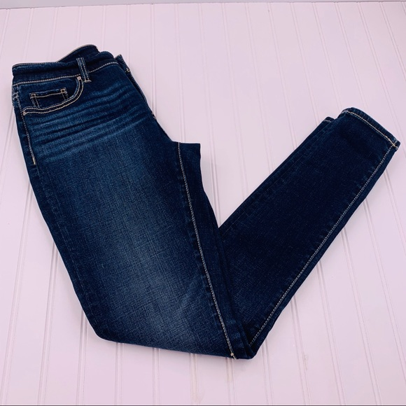BKE Denim Gabby Skinny Jeans Dark High Rise 26R
